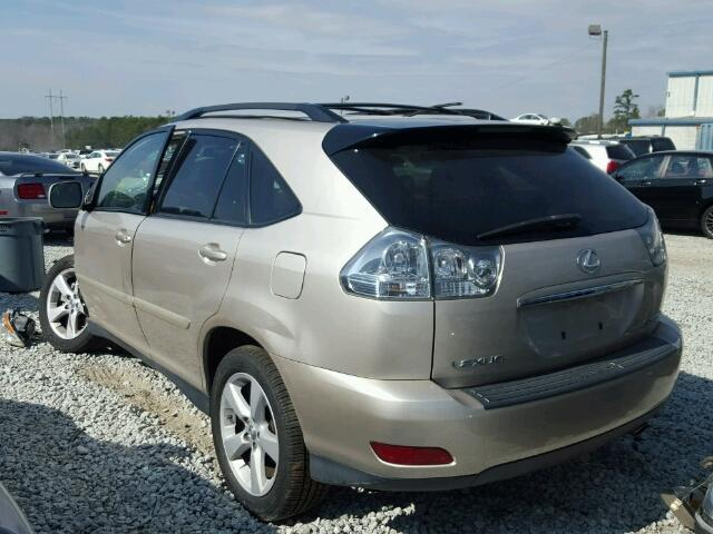 salvage lexus rx 350 suvs for sale and auction 2t2gk31ux7c003155. Black Bedroom Furniture Sets. Home Design Ideas
